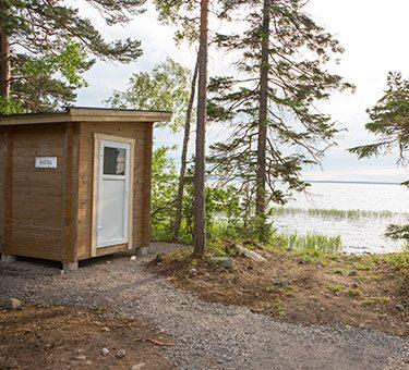 sauna aan het unden meer