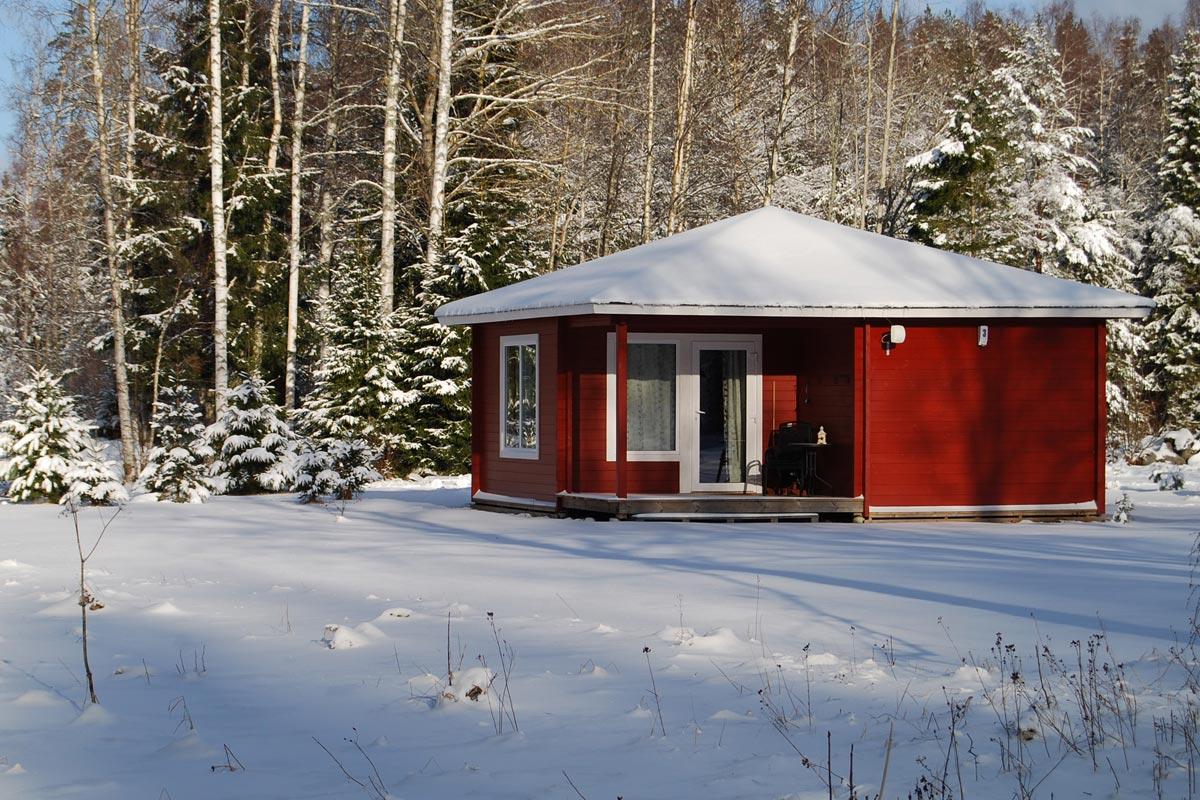 Cottage winter