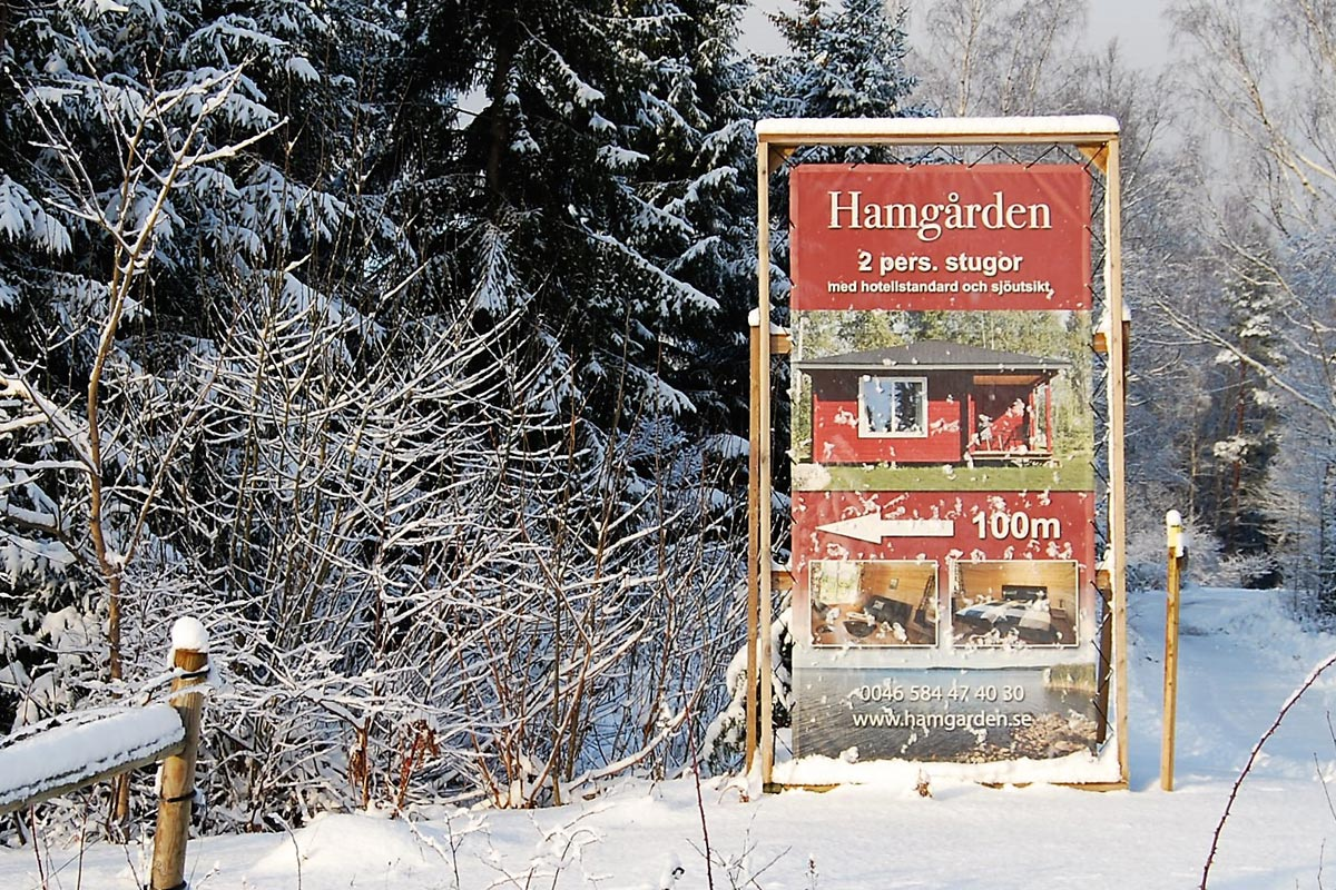 Hamgarden sign